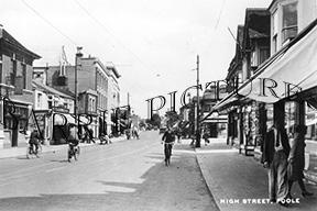 Poole, High Street c1945