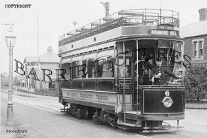 Moordown, Tramcar Terminus c1905