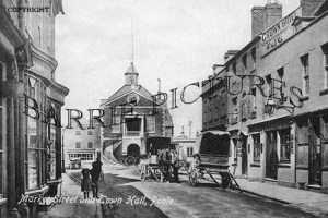 Poole, Market Street and Town Hall c1905