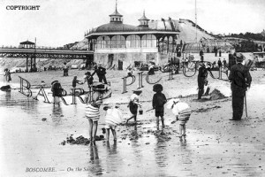Boscombe, on the Sands c1910