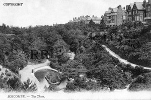 Boscombe, The Chine c1910