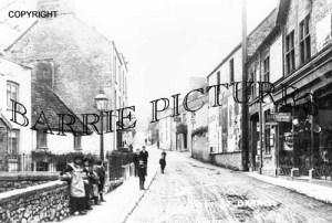 Banwell, West Street c1900