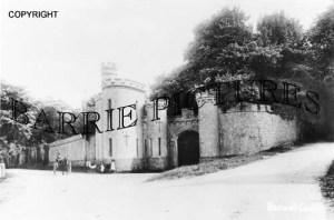 Banwell, Castle c1905
