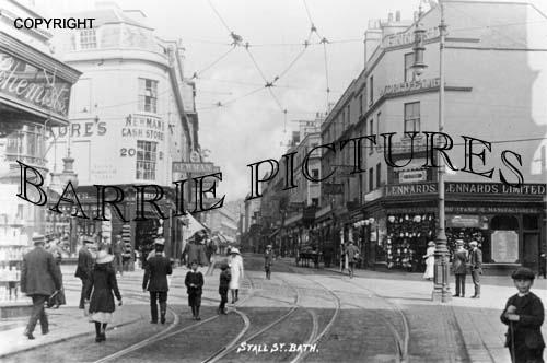 Bath, Stall Street c1930