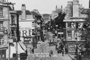 Bath, Kingsmead Square and Westgate Street c1920