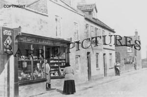 Berrow, Village Shop c1940