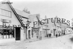 Bishops Hull, Post Office c1910