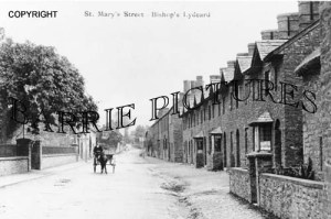 Bishops Lydeard, St Mary's Street c1900