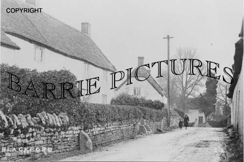Blackford, Village c1920