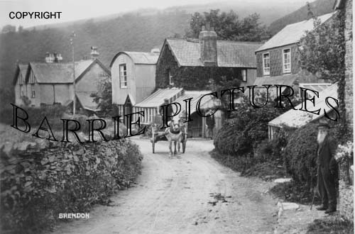 Brendon, Village c1910