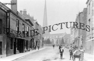 Bridgwater, Church c1900
