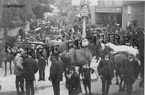 Bridgwater, Horse Fair c1900