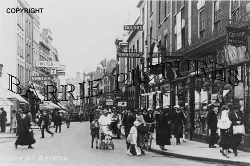 Bristol, Castle Street c1930
