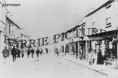 Bruton, High Street c1910
