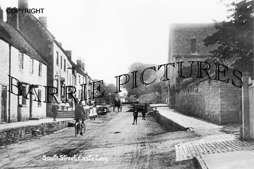 Castle Cary, South Street c1900
