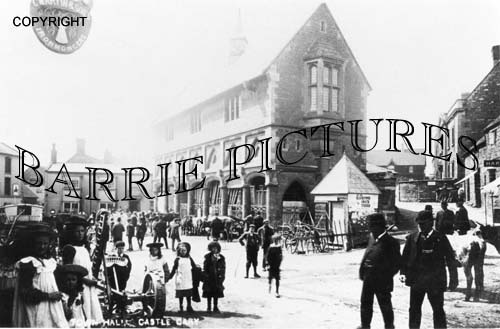 Castle Cary, Town Hall c1900
