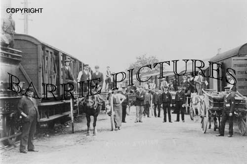 Cheddar, Station c1900