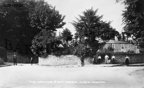 Chew Magna, Grange and Cottages c1910