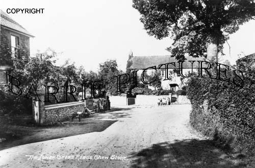 Chew Stoke, The Lower Cross Roads c1910
