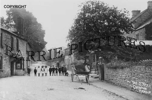 Chewton Mendip, The Street c1900