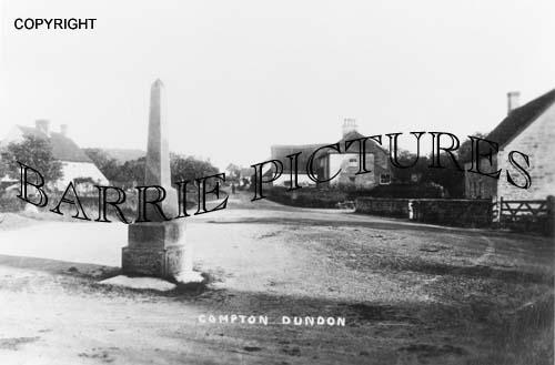 Compton Dundon, Village c1910