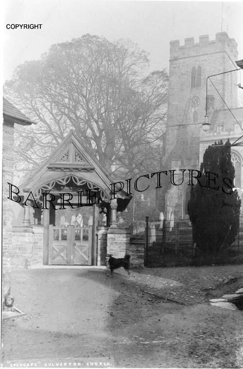Dulverton, Lychgate c1910