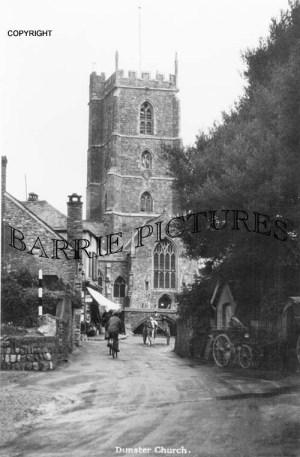Dunster, Church c1910