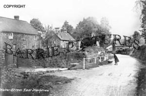 East Harptree, Water Street c1910