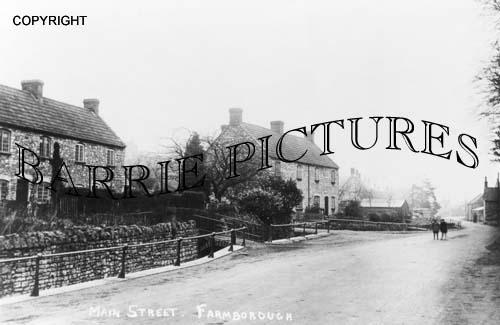 Farmborough, Main Street c1920