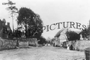 Hazelbury Pucknett, Village c1900
