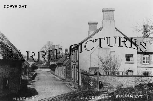 Hazelbury Plucknett, North Street c1910