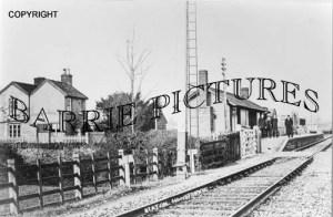 Henstridge, The Station c1900