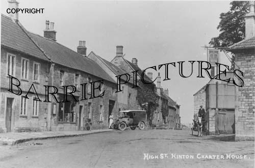Hinton Charterhouse, High Street c1910