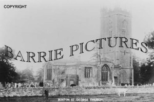 Hinton St George, The Church c1910