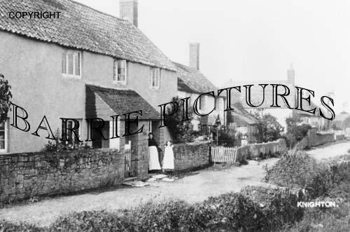 Knighton, Village c1900