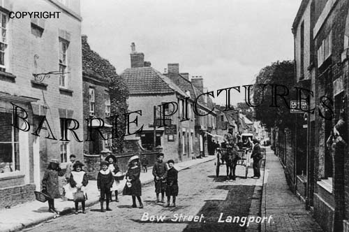 Langport, Bow Street c1910