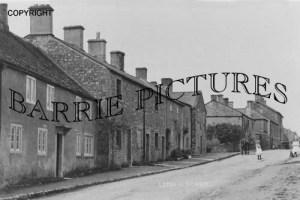 Leigh on Mendip, village c 1910
