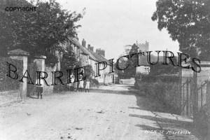 Milverton, High Street c1910
