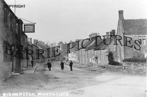 Montacute, The Kings Arms c1900