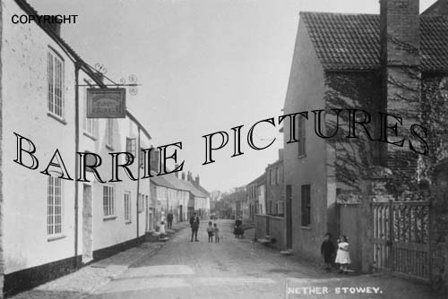 Nether Stowey, Lime Street c1910