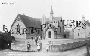 Norton Fitzwarren, The School c1900