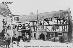 Norton St Philip, The George Inn c1910