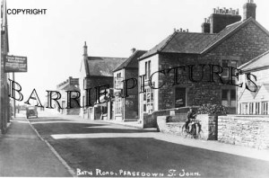 Peasedown, Bath Road c1920