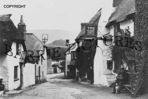 Porlock, The Ship Inn c1910