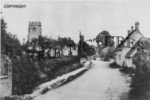 Preston Plucknett, Village c1900