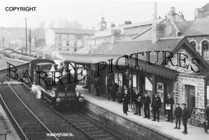 Radstock, The Station c1900