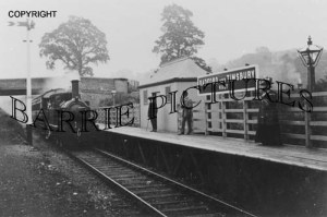 Timsbury, Radford and Timsbury Station c1910