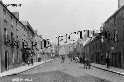 Wells, Broad Street c1910