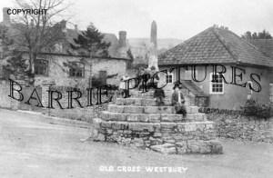 Westbury Sub Mendip, The Old Cross c1910