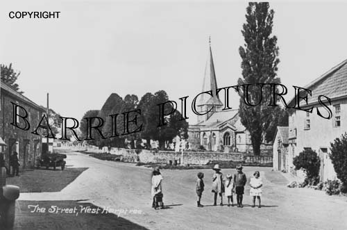 West Harptree, The Street c1920